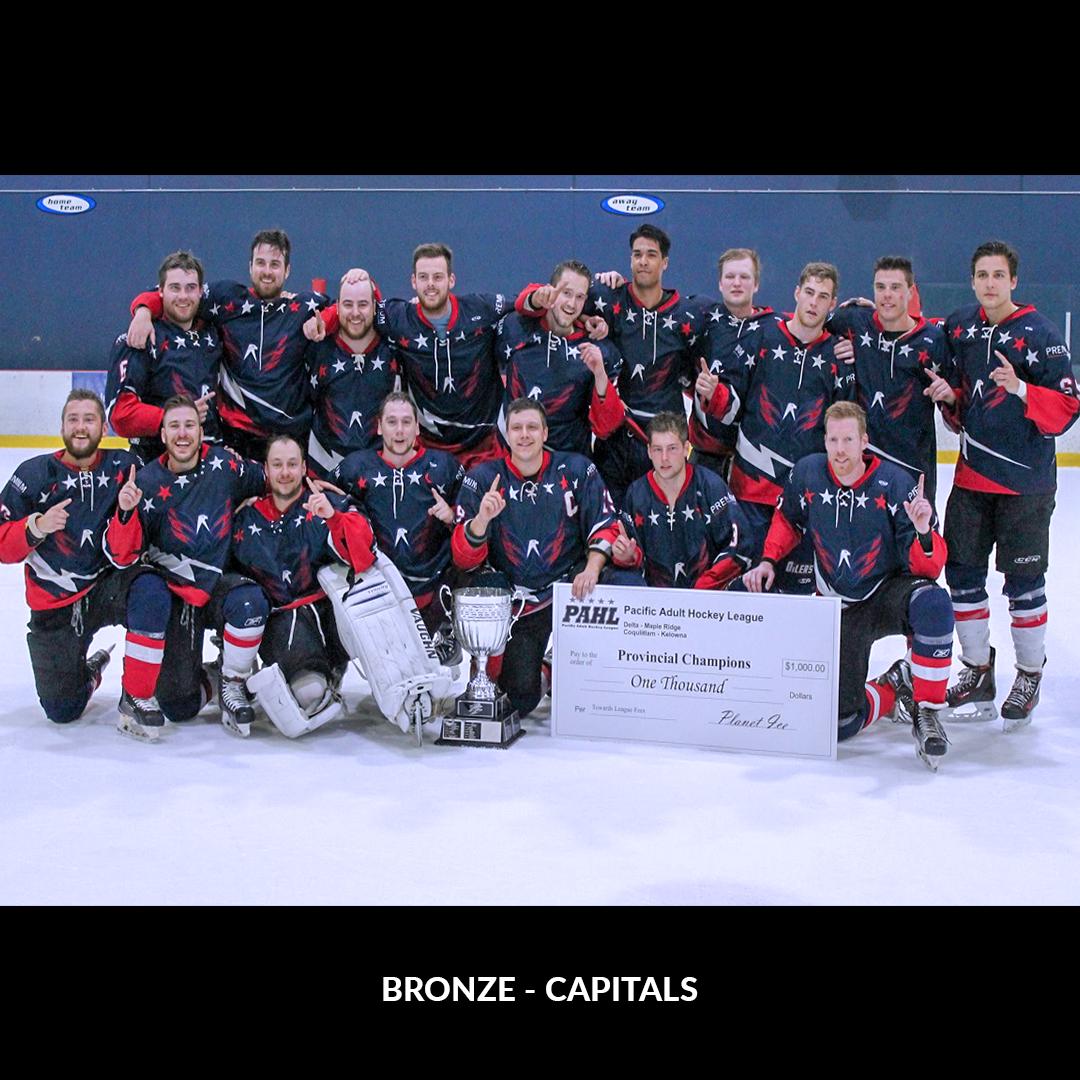 Bronze - Capitals